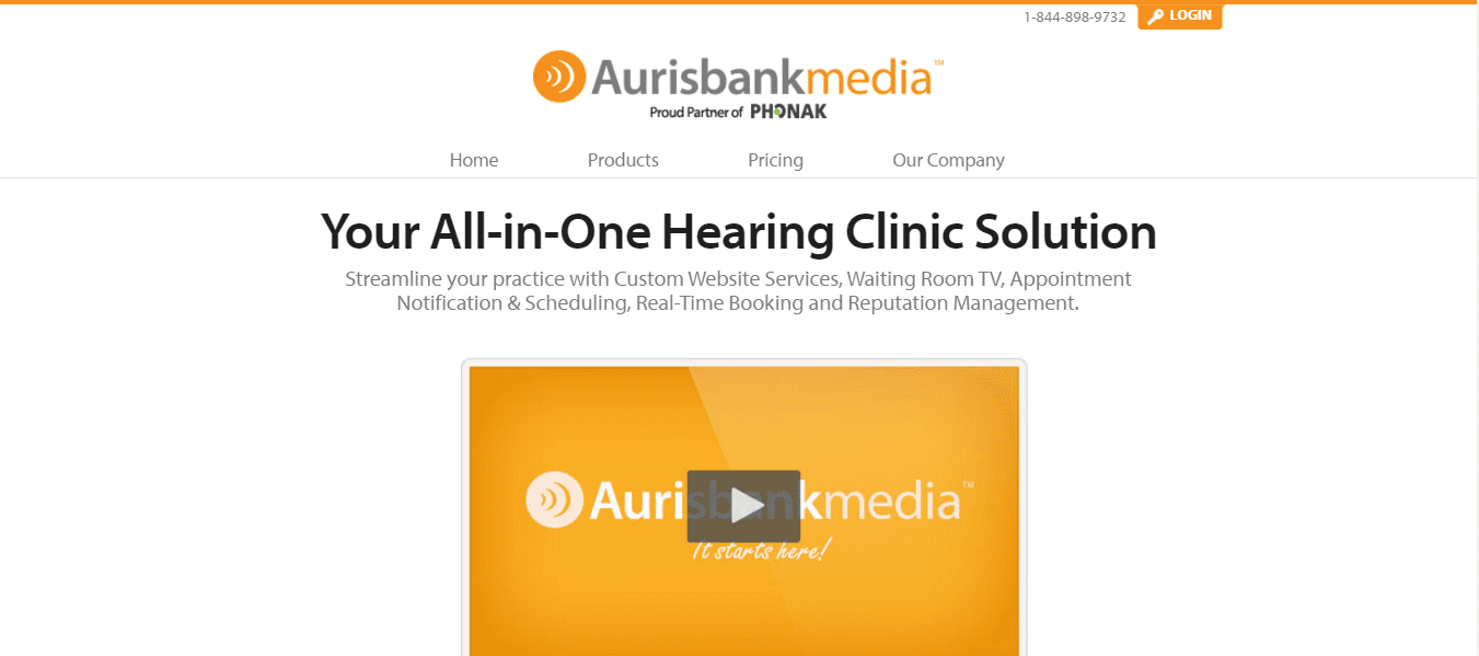Aurisbank Media Website Copy