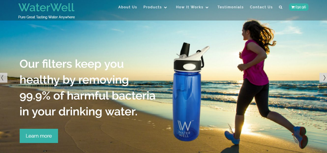 WaterWell Website Copy & Design