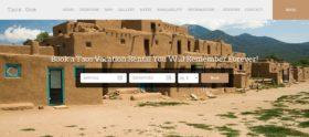 Taos Vacation Rental Website Copy & Design