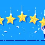 rating-with-character-star-rating-businessman-holding-gold-star-hands-give-five-feedback-concept-evaluation-system-positive-review-quality-work-feedback-web-page-