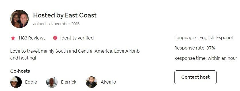 Airbnb profile verification