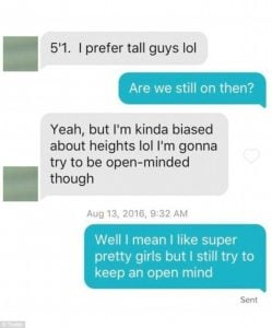 Best Dating Site For Tall People Tinder Sound Message