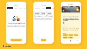 Bumble now has interest badges so it's easier to tell daters your likes | HT Tech