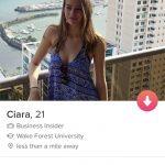 Tinder bio